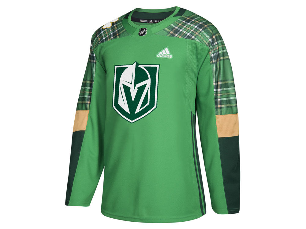 0a6c1e3d831 Vegas Golden Knights adidas NHL Men s St. Patrick s Day Authentic Jersey