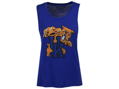 Kentucky Wildcats Retro Brand NCAA Women's Rayon Rocker Tank