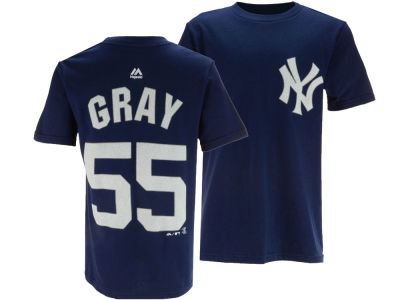 New York Yankees Sonny Gray Majestic MLB Youth Official Player T-Shirt