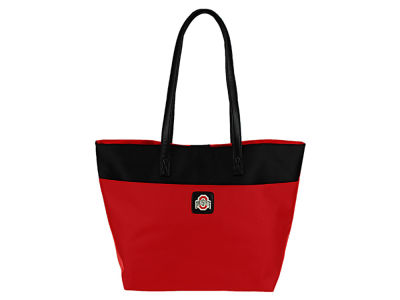 Ohio State Buckeyes Leather Tote