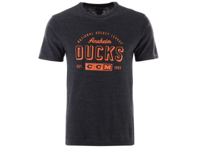 Anaheim Ducks CCM NHL Men's Speed Zone T-shirt