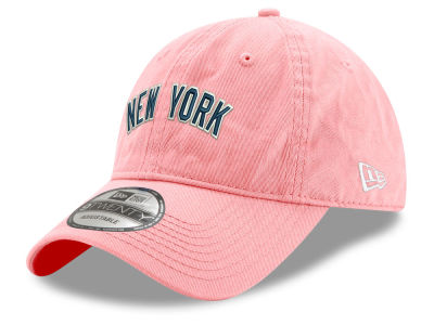 New York Yankees New Era MLB Pink Wordmark 9TWENTY Cap