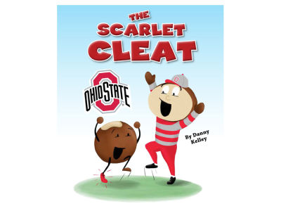 Ohio State Buckeyes The Scarlet Cleat Childrens Book