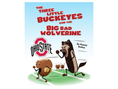 Ohio State Buckeyes Three Little Buckeyes Childrens Book