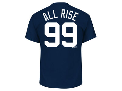 New York Yankees Aaron Judge Majestic MLB Men's Players Weekend Name & Number T-Shirt