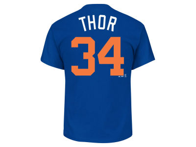 New York Mets Noah Syndergaard Majestic MLB Men's Players Weekend Name & Number T-Shirt