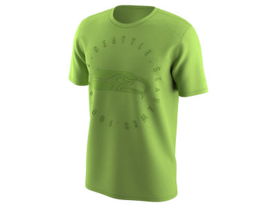 Seattle Seahawks Nike NFL Men's Color Rush Logo T-Shirt