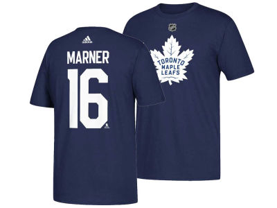 Toronto Maple Leafs Mitchell Marner adidas NHL Men's Silver Player T-shirt