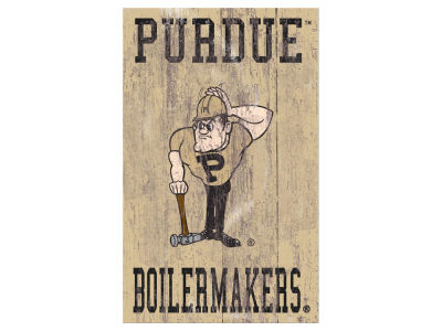 Purdue Boilermakers 11x19 Heritage Distressed Logo Sign
