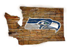 Seattle Seahawks Team Logo Road Map Wall Art Home Office & School Supplies
