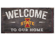 6x12 Welcome Wood College Sign Bed & Bath