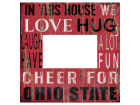 Ohio State Buckeyes 10x10 In This House Picture Frame Bed & Bath