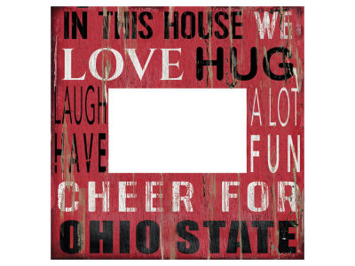 Ohio State Buckeyes 10x10 In This House Picture Frame
