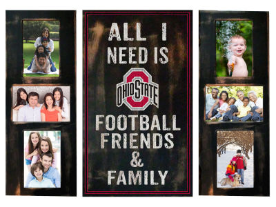Ohio State Buckeyes 3 pc Photo Frame