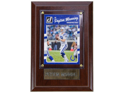 Indianapolis Colts Peyton Manning 4x6 Carded Plaque