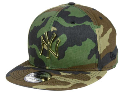 New York Yankees New Era MLB Camo O'Gold 9FIFTY Snapback Cap