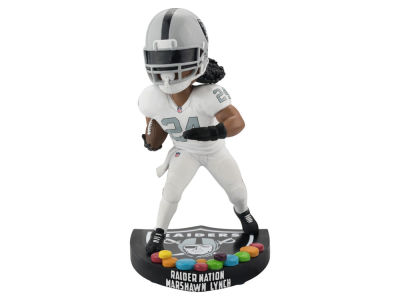 Oakland Raiders Marshawn Lynch SMU Bobblehead