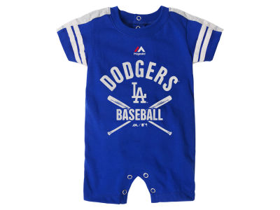Los Angeles Dodgers MLB Newborn Classic Stripe Romper
