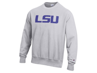 LSU Tigers Champion NCAA Men's Reverse Weave Crew Sweatshirt