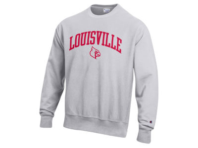 Louisville Cardinals Champion NCAA Men's Reverse Weave Crew Sweatshirt