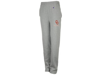 Oklahoma Sooners Champion NCAA Men's Powerblend Open Bottom Sweatpant