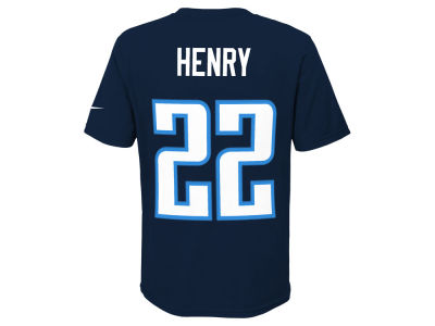 Tennessee Titans Derrick Henry Nike NFL Youth Pride Name and Number T-Shirt