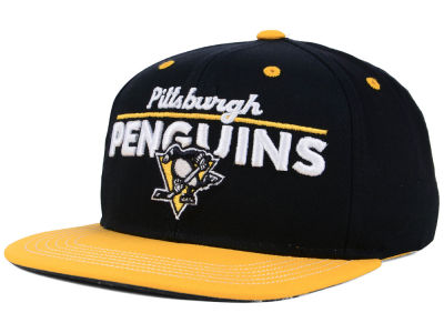 Pittsburgh Penguins Outerstuff NHL Youth Team Vize Snapback Cap