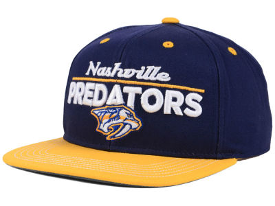Nashville Predators Outerstuff NHL Youth Team Vize Snapback Cap