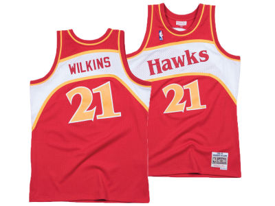 Atlanta Hawks Dominique Wilkins Mitchell & Ness NBA Men's Hardwood Classic Swingman Jersey