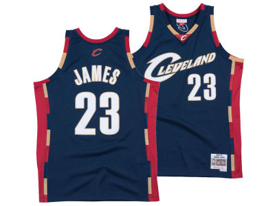 Cleveland Cavaliers LeBron James Mitchell & Ness NBA Men's Hardwood Classic Swingman Jersey