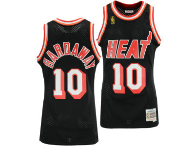 Miami Heat Tim Hardaway Mitchell & Ness NBA Men's Hardwood Classic Swingman Jersey