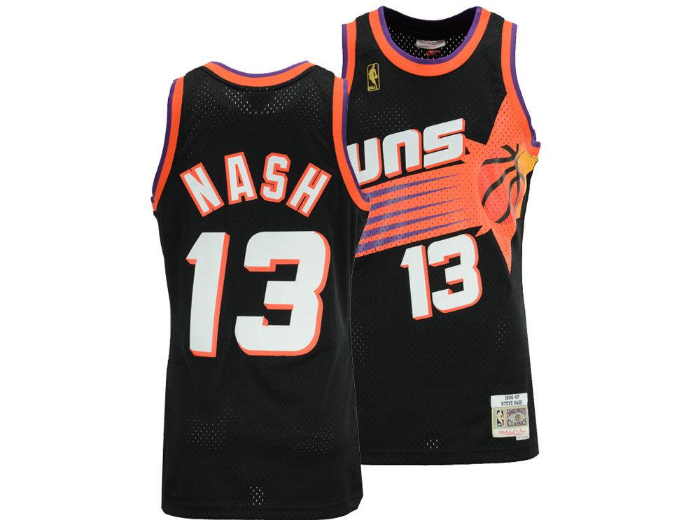 2ff364208 Phoenix Suns Steve Nash Mitchell   Ness NBA Men s Hardwood Classic Swingman  Jersey