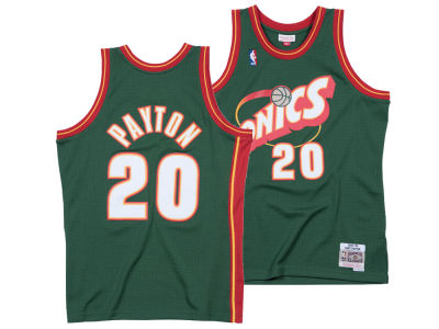 Seattle SuperSonics Gary Payton Mitchell & Ness NBA Men's Hardwood Classic Swingman Jersey