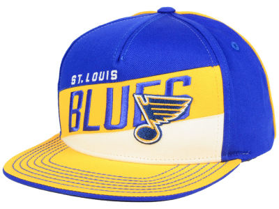 St. Louis Blues Outerstuff NHL Youth Color Block Adjustable Cap