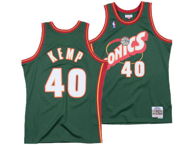 Seattle SuperSonics Shawn Kemp Mitchell & Ness NBA Men's Hardwood Classic Swingman Jersey