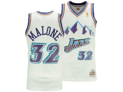 Utah Jazz Karl Malone Mitchell & Ness NBA Men's Hardwood Classic Swingman Jersey