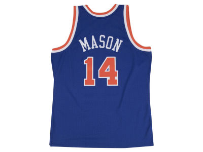 New York Knicks Anthony Mason Mitchell & Ness NBA Men's Hardwood Classic Swingman Jersey