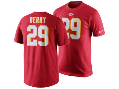 Kansas City Chiefs Eric Berry Nike NFL Men's Pride Name and Number T-Shirt
