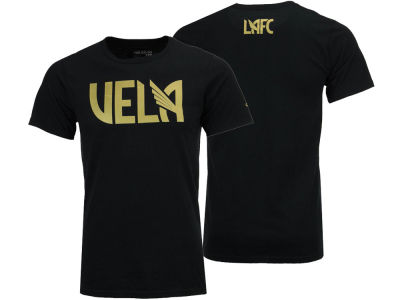 Los Angeles Football Club Carlos Vela adidas MLS Men's Player Name Logo T-Shirt
