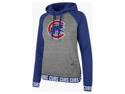Chicago Cubs '47 MLB Women's Encore Revolve Hoodie