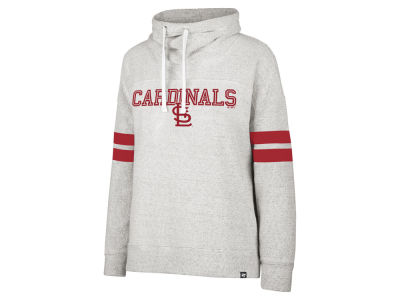 St. Louis Cardinals '47 MLB Women's French Terry Funnel Hoodie