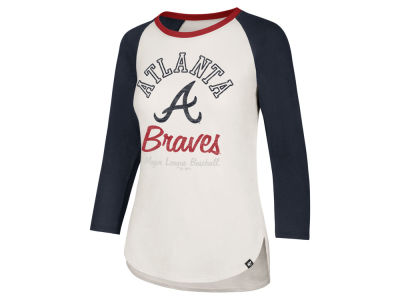 Atlanta Braves '47 MLB Women's Vintage Raglan T-shirt