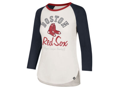 Boston Red Sox '47 MLB Women's Vintage Raglan T-shirt