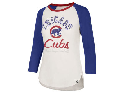 Chicago Cubs '47 MLB Women's Vintage Raglan T-shirt