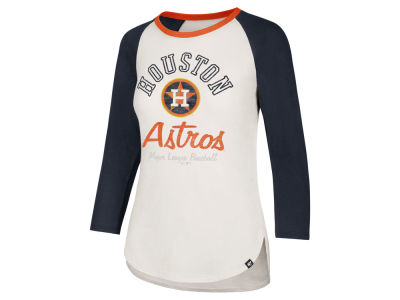 Houston Astros '47 MLB Women's Vintage Raglan T-shirt
