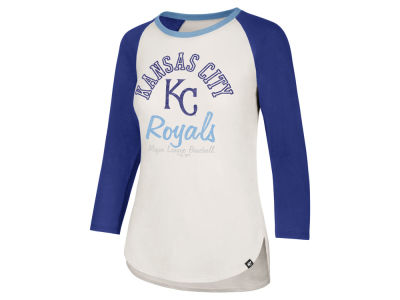Kansas City Royals '47 MLB Women's Vintage Raglan T-shirt