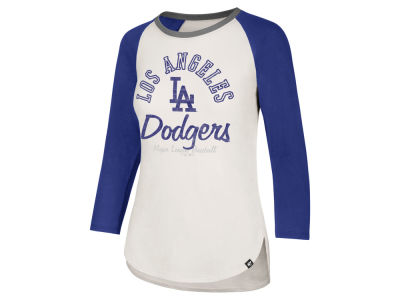 Los Angeles Dodgers '47 MLB Women's Vintage Raglan T-shirt