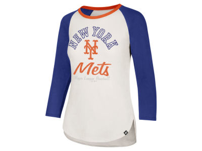 New York Mets '47 MLB Women's Vintage Raglan T-shirt