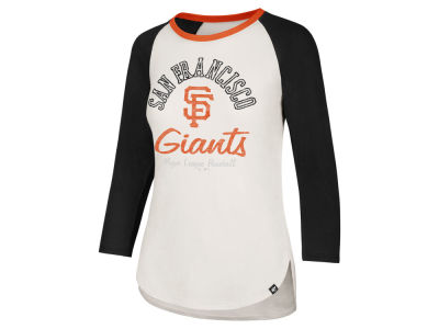 San Francisco Giants '47 MLB Women's Vintage Raglan T-shirt