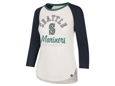 Seattle Mariners '47 MLB Women's Vintage Raglan T-shirt